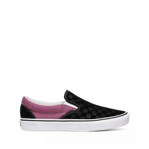 נעליים ואנס לגברים Vans Classic Slip On - שחור/סגול