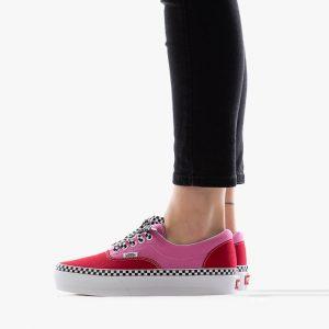 נעליים ואנס לנשים Vans Era Platform - ורוד/אדום
