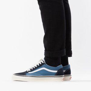 נעלי סניקרס ואנס לגברים Vans Old Skool - כחול/תכלת
