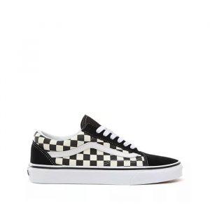 נעלי סניקרס ואנס לגברים Vans Old skool - שחור/לבן