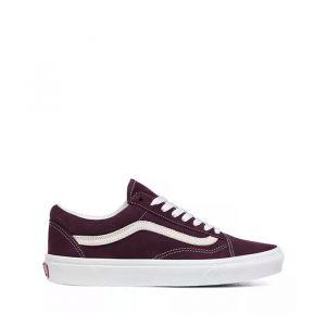 נעליים ואנס לגברים Vans Old skool - בורדו