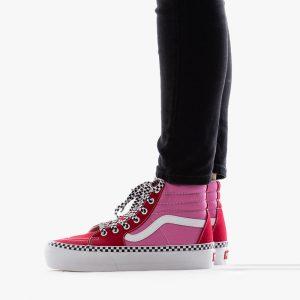 נעליים ואנס לנשים Vans Sk8-Hi Platform 2.0 - ורוד/אדום