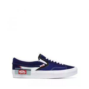 נעליים ואנס לגברים Vans Classic Slip On - כחול