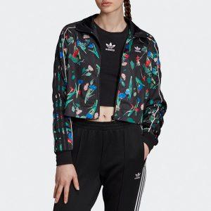 ביגוד אדידס לנשים Adidas Bellista Allover Print - שחור פרחוני