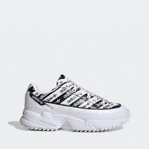 נעליים אדידס לנשים Adidas Kiellor - לבן הדפס