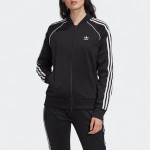 ביגוד Adidas Originals לנשים Adidas Originals SST Track Jacket - שחור