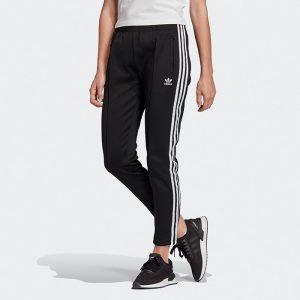 ביגוד אדידס לנשים Adidas SST Track Pants - שחור