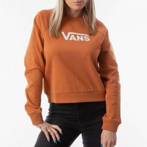 ביגוד ואנס לנשים Vans Flying V Boxy - כתום