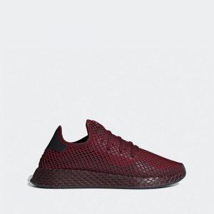 נעליים אדידס לגברים Adidas DEERUPT RUNNER - בורדו