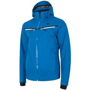 ג'קט ומעיל פור אף לגברים 4F Wind & Rain - כחול