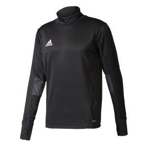 ביגוד אדידס לגברים Adidas Tiro 17 TRG TOP - שחור