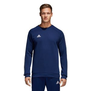 סווטשירט אדידס לגברים Adidas CORE 18 - כחול