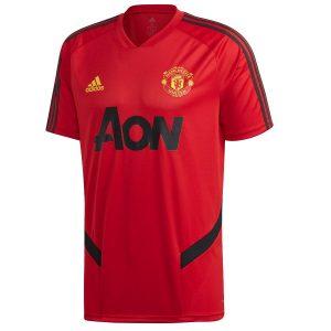 ביגוד קבוצות אדידס לגברים Adidas Manchester United FC TR JSY - אדום