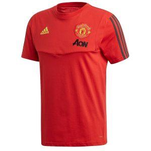 ביגוד קבוצות אדידס לגברים Adidas Manchester United - אדום