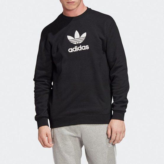ביגוד Adidas Originals לגברים Adidas Originals Adicolor PRM Crew - שחור
