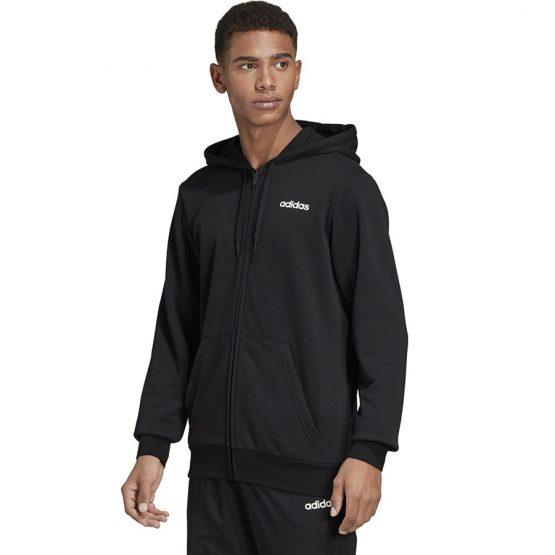 ביגוד אדידס לגברים Adidas PLN FZ FT - שחור