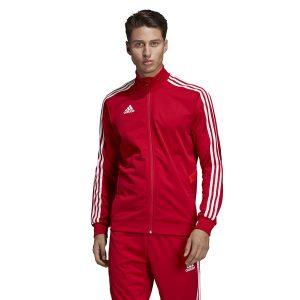 ביגוד אדידס לגברים Adidas TIRO 19 TR - אדום