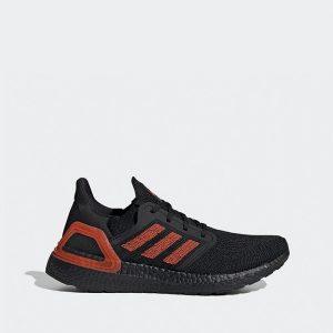 נעליים אדידס לגברים Adidas Ultraboost 20 - שחור/אדום