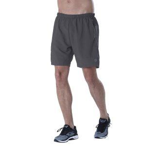 ביגוד אסיקס לגברים Asics  7IN Shorts  - אפור כהה