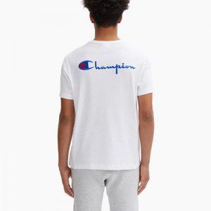 ביגוד צ'מפיון לגברים Champion Crewneck - לבן