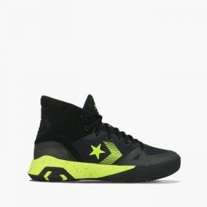 נעליים קונברס לגברים Converse G4 Hi - שחור/צהוב
