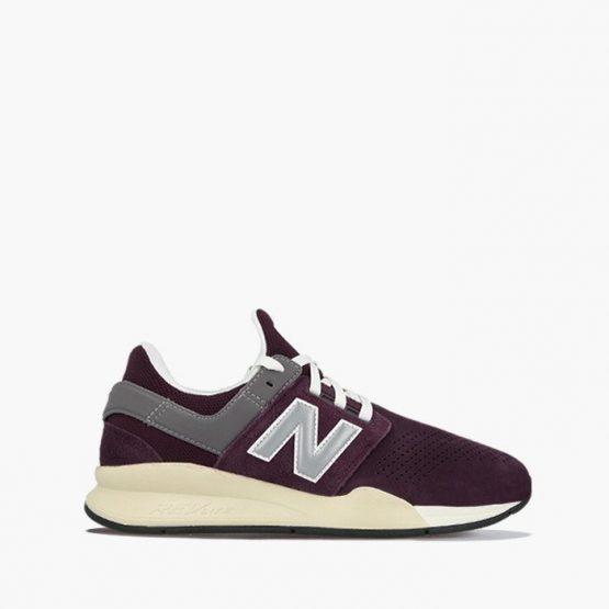 נעליים ניו באלאנס לגברים New Balance MS247 - אדום יין
