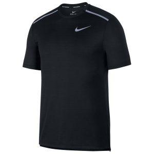 ביגוד נייק לגברים Nike  Dri Fit Miler  - שחור