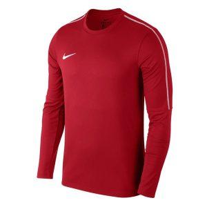 ביגוד נייק לגברים Nike Dry Park18 Football Crew Top - אדום