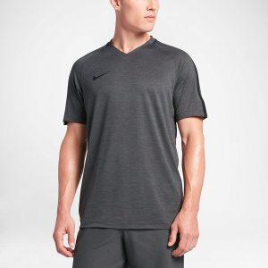 ביגוד נייק לגברים Nike Dry Top SS Squad Prime - אפור