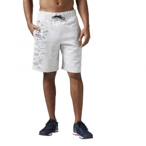 ביגוד ריבוק לגברים Reebok Workout Ready Cotton Series - לבן