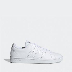 נעלי סניקרס אדידס לגברים Adidas Advantage Base - לבן/שחור