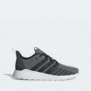 נעלי סניקרס אדידס לגברים Adidas  Questar Flow - אפור/שחור