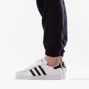 נעליים Adidas Originals לנשים Adidas Originals Superstar 2.0 J - שחור/לבן
