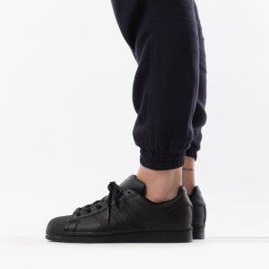 נעלי סניקרס אדידס לנשים Adidas Originals Superstar 2.0 J - שחור