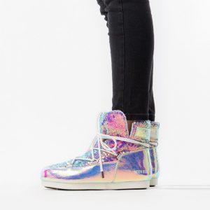 נעליים מונבוט' לנשים Moon Boot 50 Anniversary Leather Holo - צבעוני