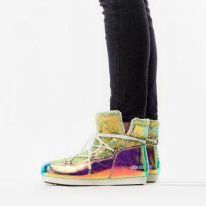 נעליים מונבוט' לנשים Moon Boot 50 Anniversary Leather Holo - צבעוני בהיר