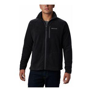 ביגוד קולומביה לגברים Columbia Fast Trek II Full Zip Fleece - שחור