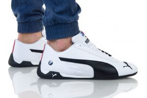 נעליים פומה לגברים PUMA BMW MMS R CAT - שחור/לבן