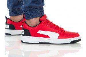 נעליים פומה לגברים PUMA REBOUND LAYUP - אדום