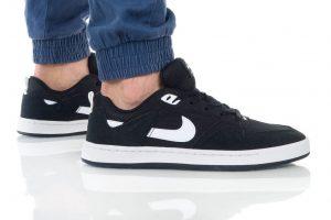 נעליים נייק לגברים Nike SB ALLEYOOP - שחור/לבן