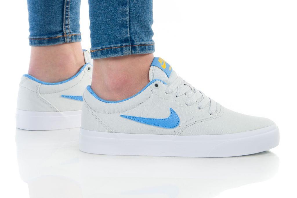נעליים נייק לנשים Nike SB CHARGE - אפור/כחול
