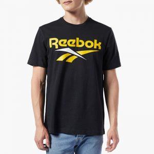 ביגוד ריבוק לגברים Reebok  Classics Vector - שחור