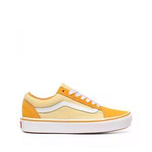 נעליים ואנס לנשים Vans Comfycush Old Skool - צהוב