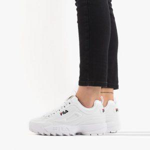 נעלי סניקרס פילה לנשים Fila Disruptor Low - לבן/שחור