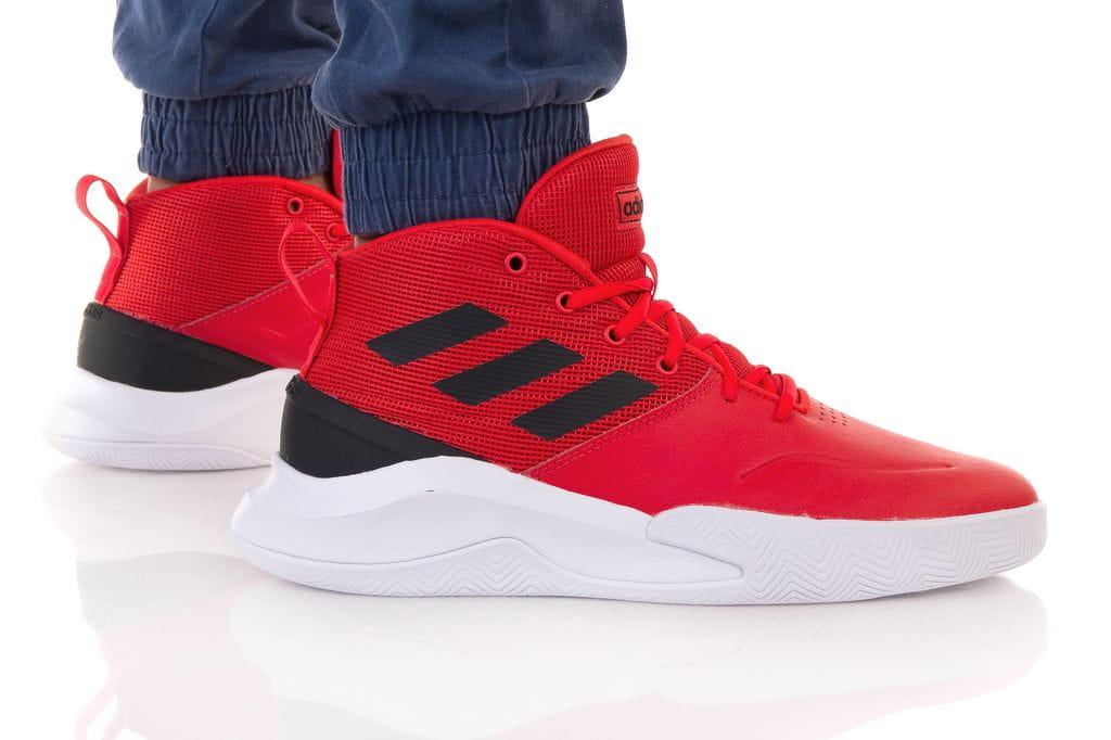 נעליים אדידס לגברים Adidas OWNTHEGAME - אדום