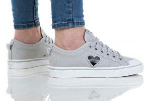 נעליים אדידס לנשים Adidas Nizza Trefoil W - אפור בהיר