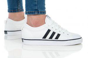 נעליים אדידס לנשים Adidas NIZZA - לבן/שחור