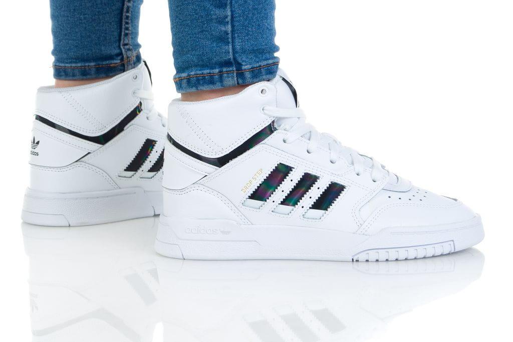 נעליים אדידס לנשים Adidas DROP STEP - לבן