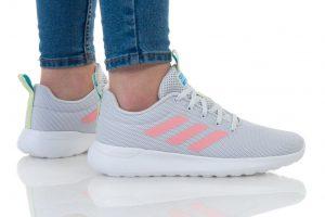נעליים אדידס לנשים Adidas LITE RACER CLN K - אפור בהיר