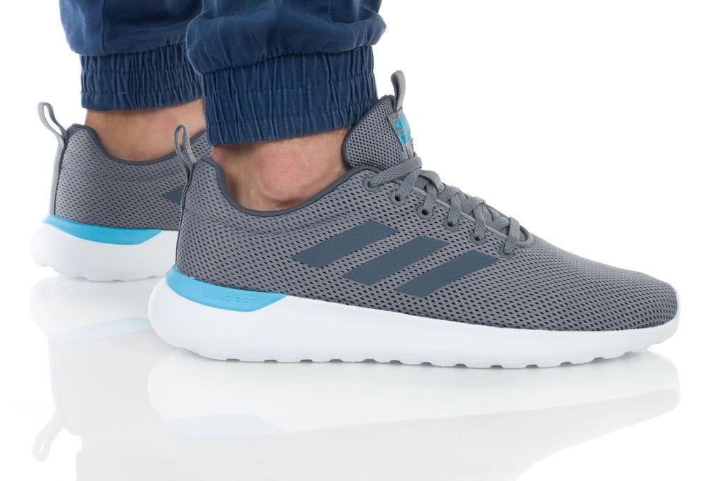 נעליים אדידס לגברים Adidas LITE RACER CLN - אפור